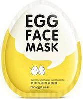Яичная маска Bioaqua Facial Egg Face Mask Тканевая маска с яичным экстрактом, фото 1