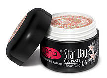 UV/LED Gel Paste PNB Star Way, 05 Rose Gold, 5 ml