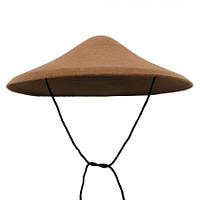 Шляпа Грибок коричневый