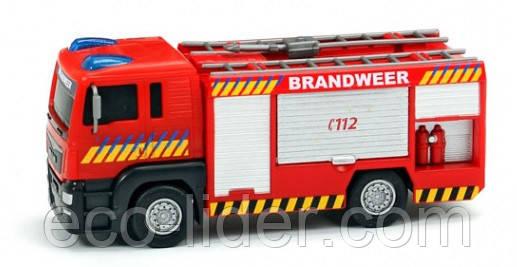 Пожарная машина MAN с подвижными частями, 3+