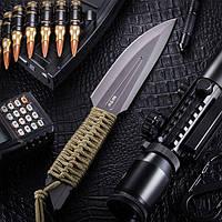 Нож метательный Кентавр 2, с тканевым чехлом и темляком в комплекте