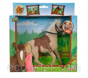 Лошадка 19 см, 3+