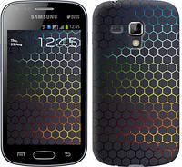 "Чехол на Samsung Galaxy S Duos s7562 Переливающиеся соты ""498c-84-328"""