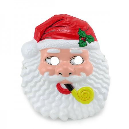 Маска Детская Санта Клаус уп. 12 шт пластик