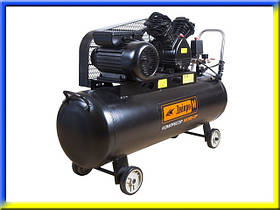 Мощный воздушный компрессор 100 л