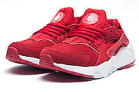 Кроссовки женские Nike Air Huarache, красные (11323),  [   36 37  ]