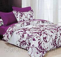 """Полуторный комплект постельного белья """"Пурпурные сны""""."""