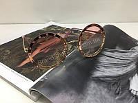 NEW 2018!!Очки солнцезащитные женские круглые в нежно-розовом цвете арт 2023, фото 1