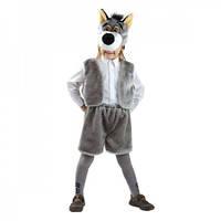 Маскарадный костюм меховой Волк размер М