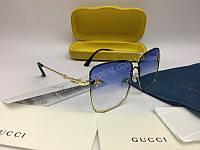 NEW 2018 Очки солнцезащитные  Gucci в нежно голубом цвете арт 2044, фото 1