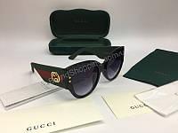 NEW 2018 Шикарные очки GUCCI солнцезащитные  в полном комплекте арт 2053, фото 1