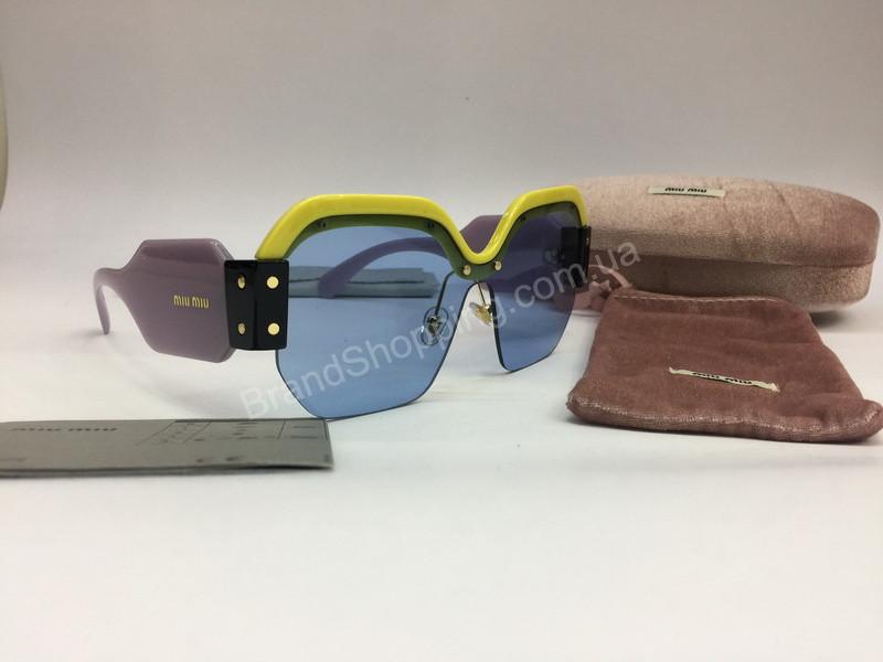 NEW 2018 Крутые очки солнцезащитные MIU MIU в нежно -розовом цвете арт 2062  - купить по ... c763698d7cb