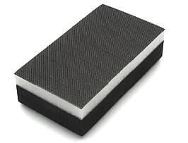 56005 125х70 мм. Шлифованный блок двухсторонний  (средней жесткости/мягкий) черный - Flexipads