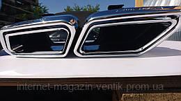 Насадки на выхлопные трубы Mercedes S63 W222