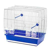 Клетка для попугаев и птиц Natalia 3 хромированная ( 555*340*515мм)