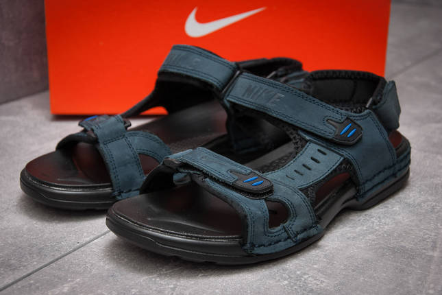 491ffc36 Сандалии мужские Nike Summer, темно-синий (13323), [ 44 (последняя