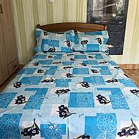 Полуторный комплект постельного белья 150х220 из бязи Голд Свежесть