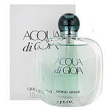 Giorgio Armani Acqua di Gioia парфумована вода 100 ml. (Тестер Армані Аква Ді Джоя), фото 2