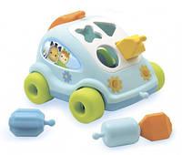 """Развивающая игрушка Cotoons """"Машинка"""" с формами, 12 мес.+"""