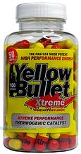 Жіросжігателя, Hard rock Supplements, Yellow Bullet Xtreme, 100 caps
