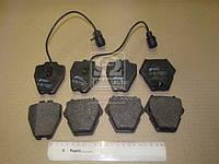 Колодка торм. AUDI A6 (4B, C5), A8 (4D2, 4D8, 4E_) передн. (пр-во REMSA) 0752.12