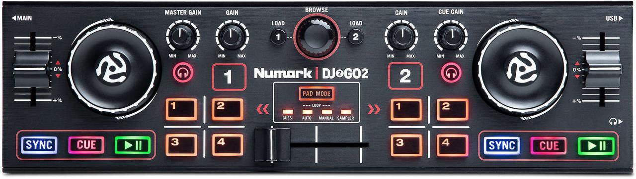 Контроллер NUMARK DJ2GO2 DJ