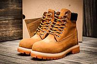 Зимние ботинки Timberland 6 premium boot, песочные (3195-1),  [  36 (последняя пара)  ]