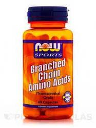 Аминокислота NOW Foods Branched Chain Amino Acids 60caps