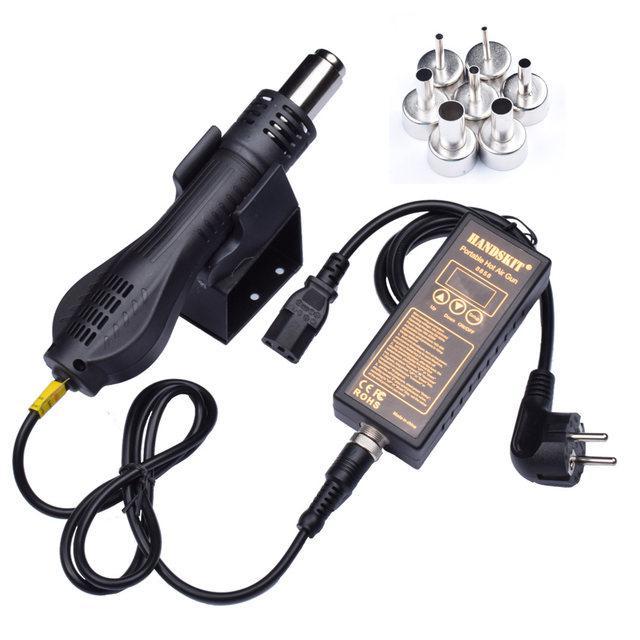 Термовоздушная паяльная станция HandsKit 8858D термофен с турбинным нагнетателем
