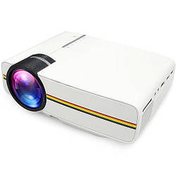 Портативный мини проектор LCD YG400