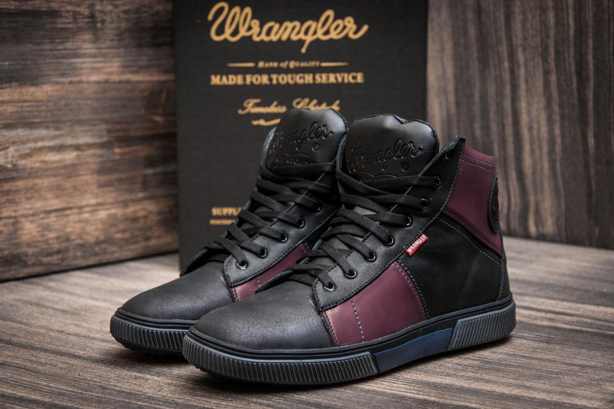Зимние кроссовки Wrangler, черные (3817),  [  41 (последняя пара)  ]
