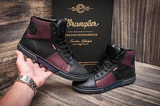 Зимние кроссовки Wrangler, черные (3817),  [  41 (последняя пара)  ], фото 2