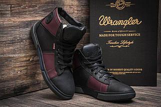 Зимние кроссовки Wrangler, черные (3817),  [  41 (последняя пара)  ], фото 3