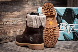 Зимние ботинки Timberland, коричневые (3932-7),  [  36 (последняя пара)  ], фото 2