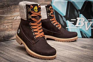 Зимние ботинки Timberland, коричневые (3932-7),  [  36 (последняя пара)  ], фото 3