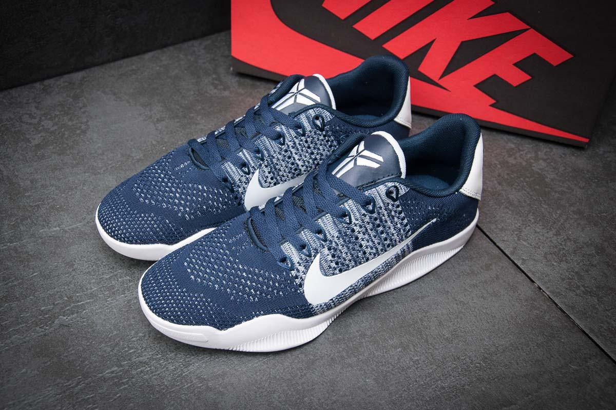 Кроссовки мужские Nike Kobe 11, синий (1003-4),  [  42 (последняя пара)  ]