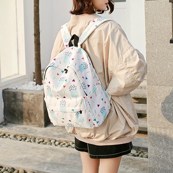 молодежный рюкзак мороженное