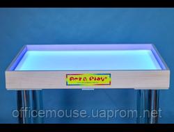 Светодиодный стол-песочница цветной: Ольха /700×500