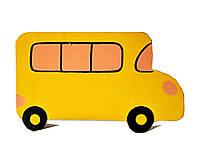 """Машинка деревянная Hega """"Автобус школьный""""  (049), фото 1"""