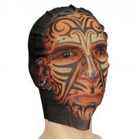 Маска чулок Лицо в татуировках