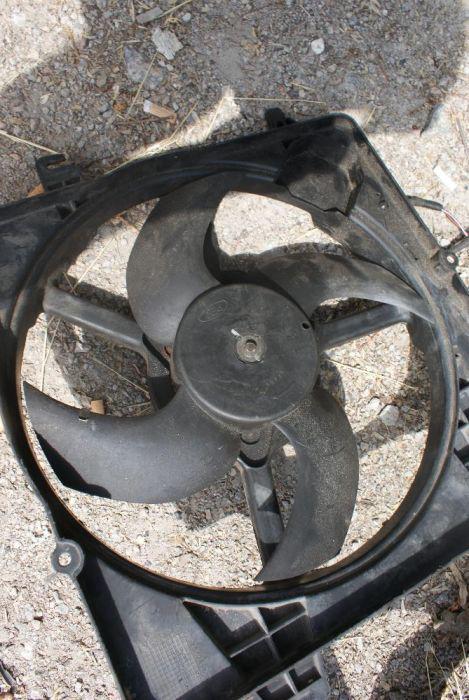 Вентилятор радиатора ford