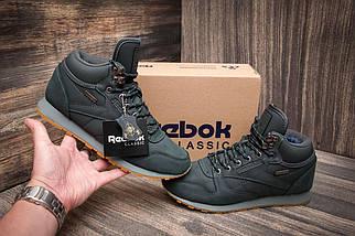 Зимние кроссовки Reebok Classik, серые (3206-1),  [  41 (последняя пара)  ], фото 2