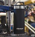 Термокружка из нержавеющей стали Stanley Master (0.53л), черная, фото 4