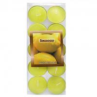 Свечи плавающие Арома Лимон уп. 10 шт