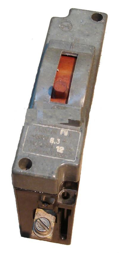 Автоматический выключатель АК-63-1М 10 А
