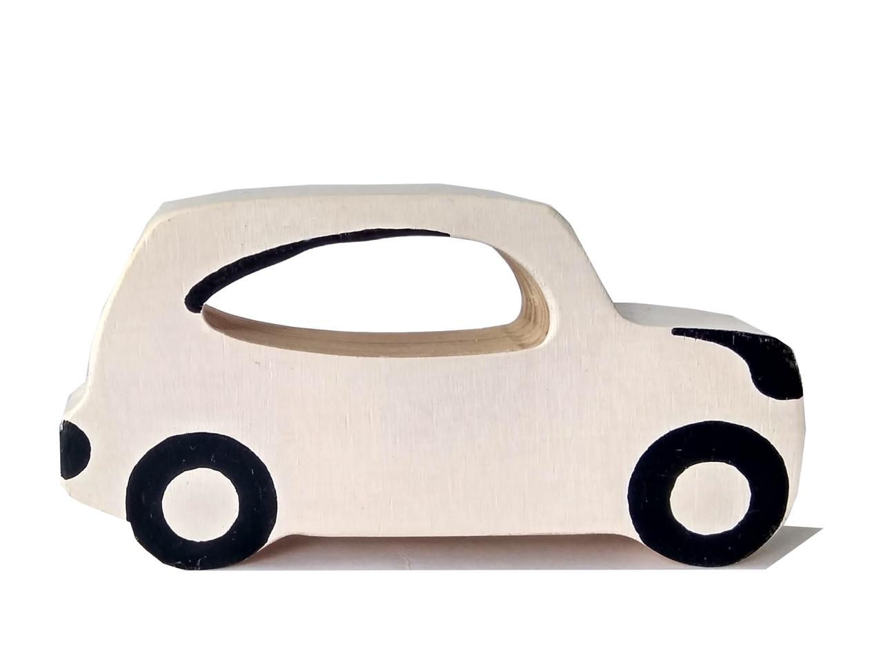 Машинка деревянная Hega Джип Лэндкрузер (110)
