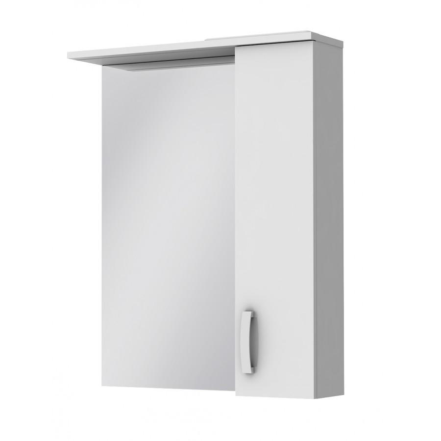 Зеркальный шкаф Ювента Trento TrnM-65 правый, 650х166х816 мм