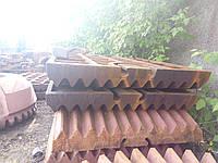 Плита дробильна СМД-118 рухома нерухома Плита дробящая подвижная неподвижная СМД-118
