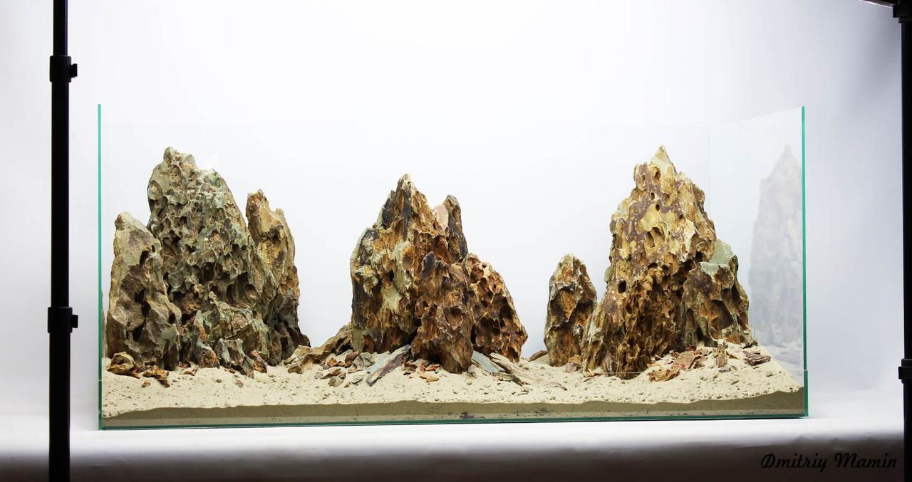 Композиция для аквариума от 150л из DragonStone