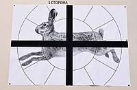 """Мишень Сателит """"Заяц+Крест"""" А1 10 листов (303), фото 1"""